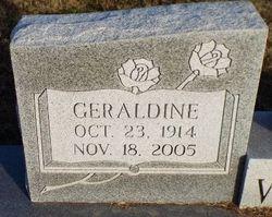 Geraldine <I>Bagwell</I> Watkins
