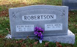Ralph Darius Robertson, Sr