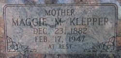 Maggie Myrtilla <I>Burnett</I> Klepper