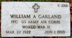 William A Garland