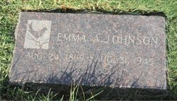 Emma A. <I>Pursch</I> Johnson