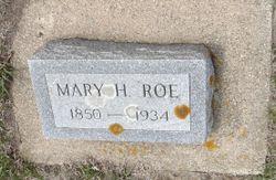 Mary <I>Holmes</I> Roe