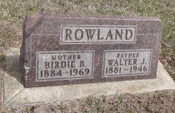 Walter Jay Rowland