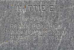 Hattie E. Peachy