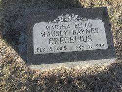 Martha Ellen <I>Mausey</I> Crecelius