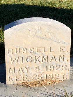 Russel E Wickman