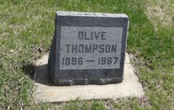 Olive <I>Peden</I> Thompson