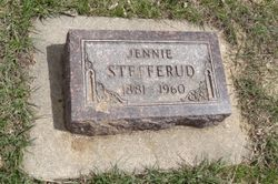 Jennie Effiline <I>Hanson</I> Stefferud