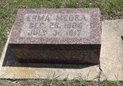 Erma M.  (child) Walker