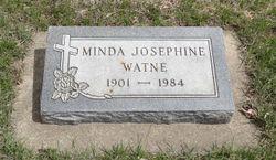 """Minda Josephine """"Josephine"""" <I>Stefferud</I> Watne"""