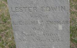 Lester Edwin Thomas