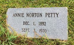 Annie Willie <I>Gauldin</I> Petty