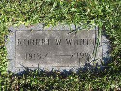 "Robert W ""Bob"" Whiting"