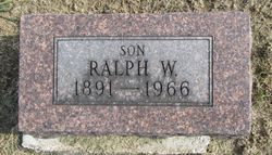 Ralph Wesley Alexander