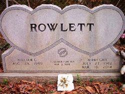 "William Glenn ""Bill"" Rowlett"