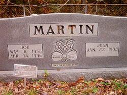 Jean <I>Rowlett</I> Martin