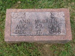 Ann Agnes McBrien