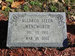 Mildred G. <I>Steen</I> Wentworth