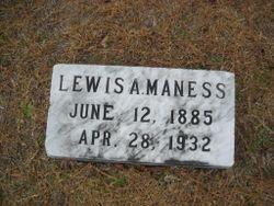 Lewis Arthur Maness