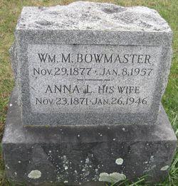 William M Bowmaster