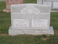 "Charlotte ""Teddy"" Harris"