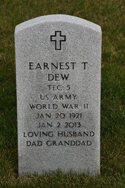 Earnest T Dew