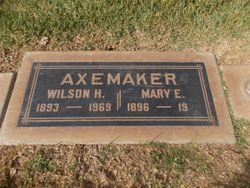 Mary E <I>Switzer</I> Axemaker