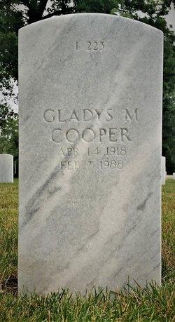 Gladys M Cooper