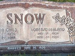 Lorenzo Leland Snow