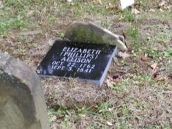 """Elizabeth """"Betsy"""" <I>Phillips</I> ALLISON"""
