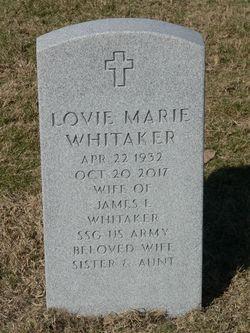 Lovie Marie Whitaker