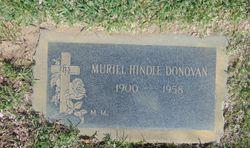 Muriel Violet <I>Hindle</I> Donovan