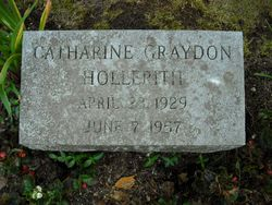 Catherine Anderton <I>Graydon</I> Hollerith