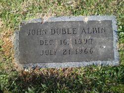 John Duble Albin