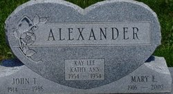 Kathy Ann Alexander