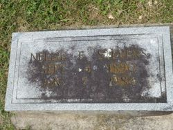 Nellie E. <I>McBrien</I> Stevens