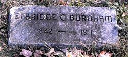 Elbridge G Burnham