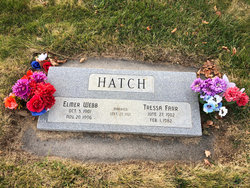 Elmer Webb Hatch