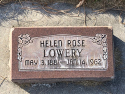 Helen Rose <I>Rute</I> Lowery