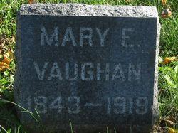 Mary Elizabeth <I>Buchanan</I> Vaughan