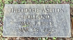 Theodore Ashton Holland, Sr