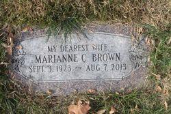 Marianne C. <I>Christensen</I> Brown