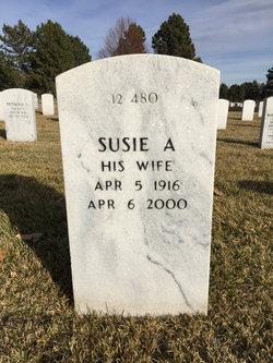 Susie A <I>Hughes</I> Blanchard