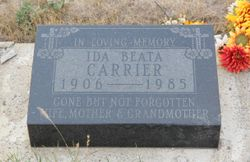Ida Beata <I>Lagasse</I> Carrier