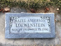 Hazel Anderson (D Loewenstei