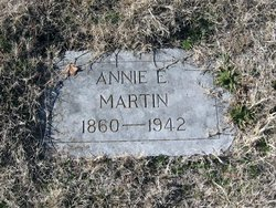 Annie Eliza <I>Riley</I> Martin
