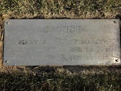 Mary Agnes <I>Wheeler</I> Crouch