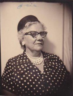 """Josephine Elizabeth """"Josie"""" <I>Silcox</I> Austin"""