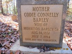 Codie <I>Connelly</I> Barley