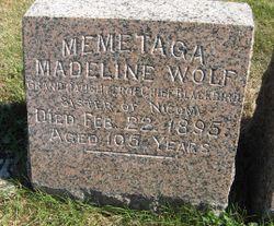 "Madeline ""Me-me-ta-ga"" <I>Wolf</I> La Flesche"